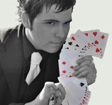 Matt Colman Magician with Cards