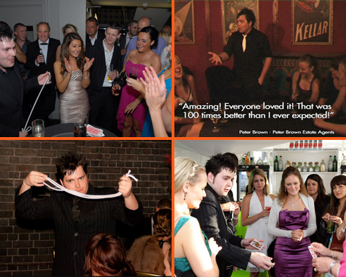 Matt Colman - Close Up Table Magician Hire UK
